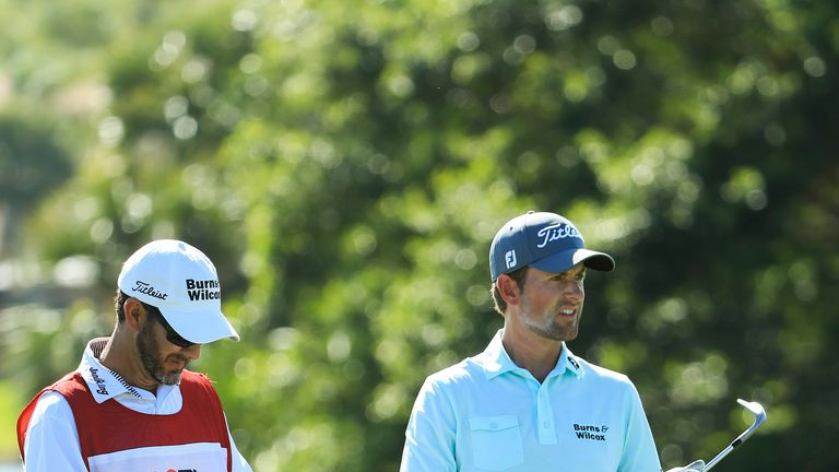 Webb Simpson came under fire over his pace of play at PGA National