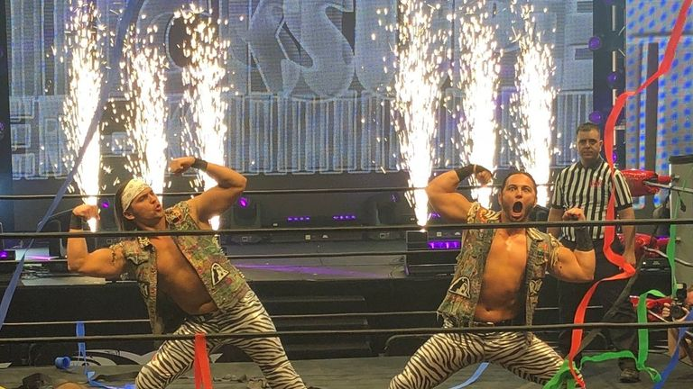 The Young Bucks are one of the most highly-rated tag teams in the world (image from: @MattJackson13)