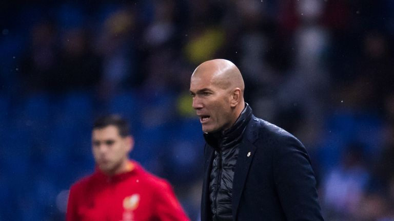 PSG want Real Madrid boss Zinedine Zidane to replace Unai Emery this summer