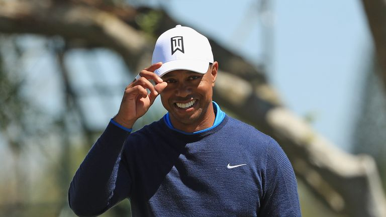 Woods has looked happier and more relaxed on the course this year