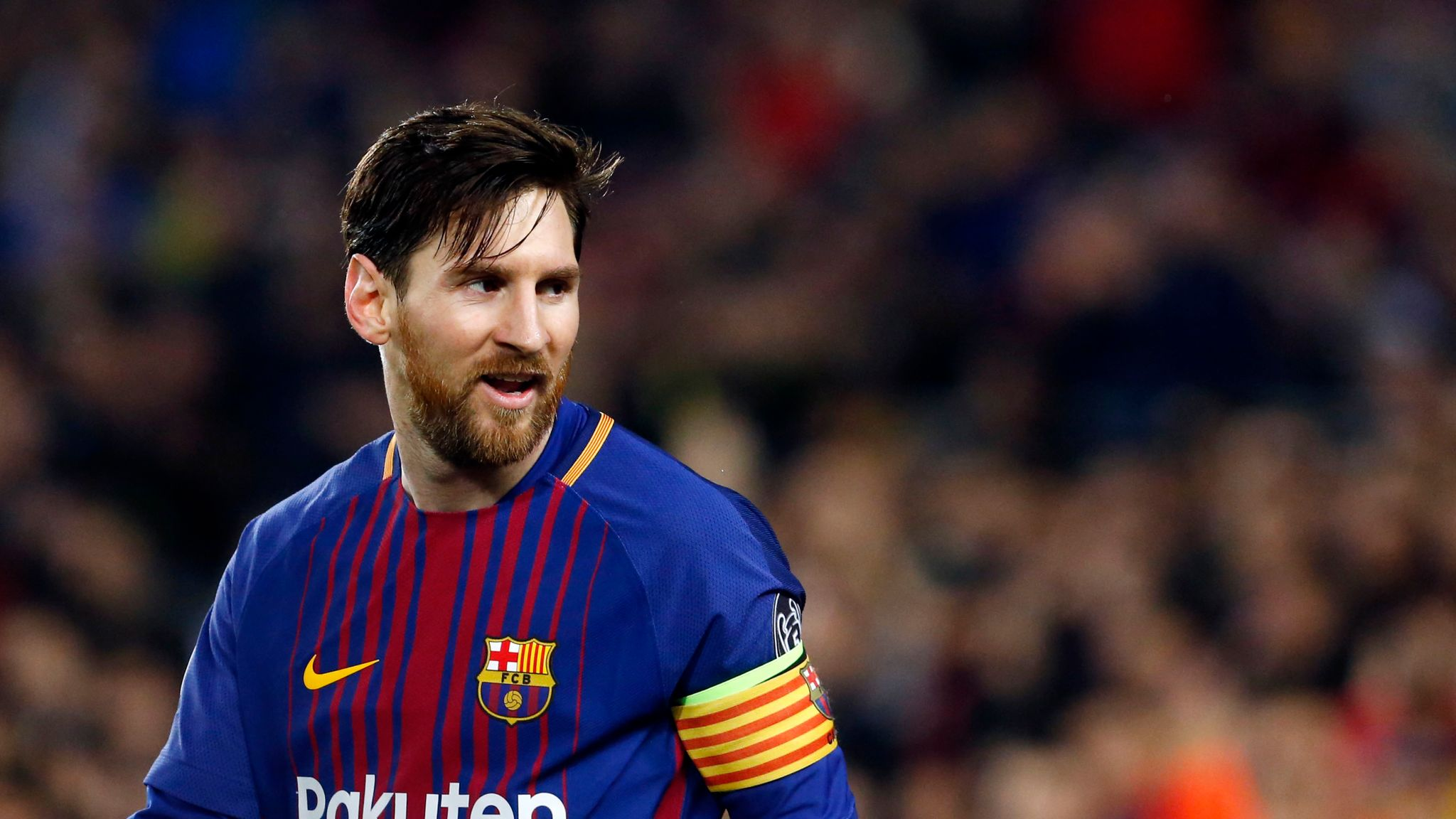 more photos eef0a 00fa9 Lionel Messi named Barcelona captain for 2018/19 season ...