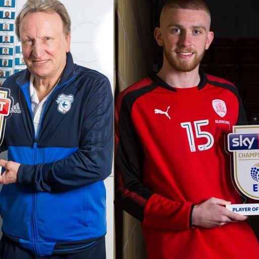 McBurnie, Warnock win monthly awards