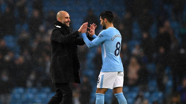 during the Premier League match between Manchester City and Chelsea at Etihad Stadium on March 4, 2018 in Manchester, England.
