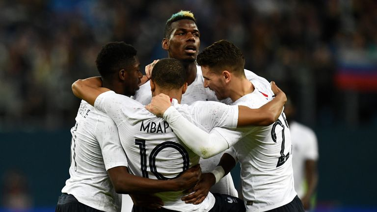 Paul Pogba was in superb form for France in Russia