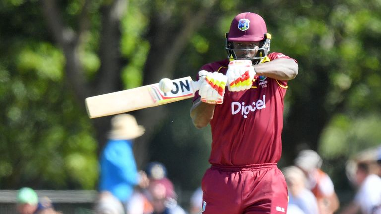 Jason Holder finished one run shy of a century