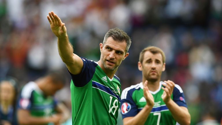 Aaron Hughes has made 111 appearances for Northern Ireland