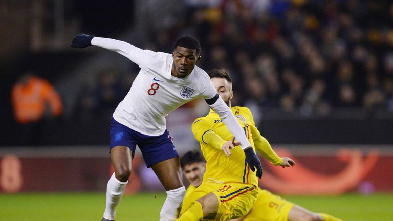 Ainsley Maitland-Niles has featured four times for England U21s this season