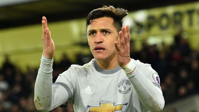 Gary Neville believes Alexis Sanchez needs to play further forwards