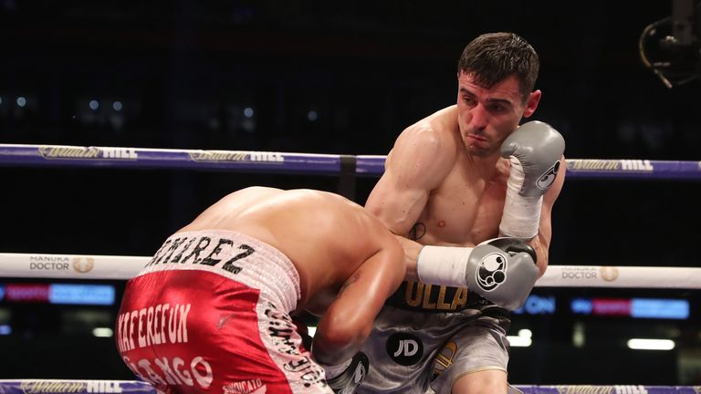 Anthony Crolla defeated Edson Ramirez