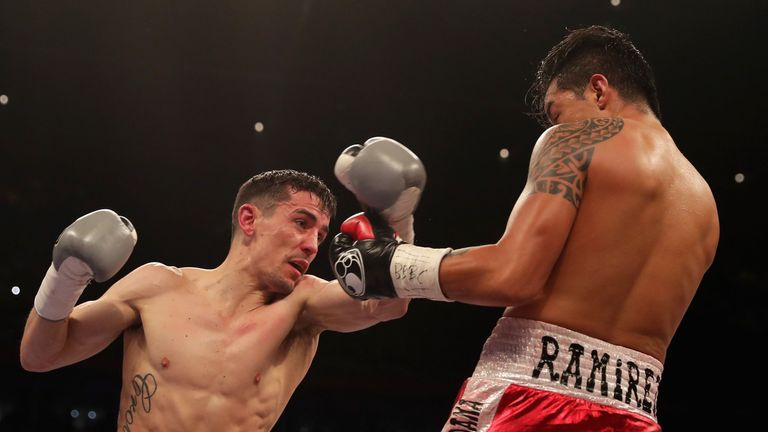 Crolla beat Edson Ramirez in March, his last appearance in the ring