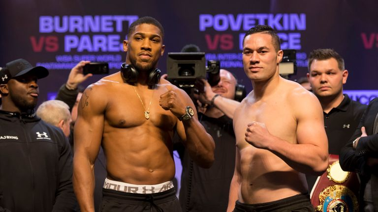 Anthony Joshua faces Joseph Parker in unification clash in  Cardiff on Saturday night, live on Sky Sports Box Office