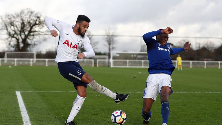 Walkes returned from MLS to play reserve-team football for Tottenham