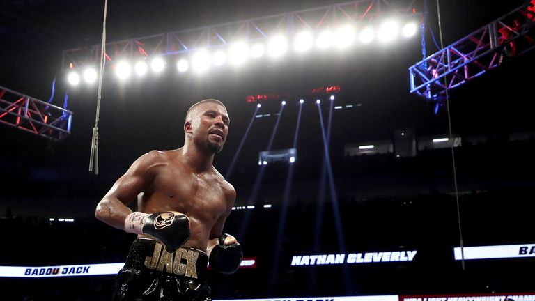 The bout will mark Badou Jack's second fight at 175lb.