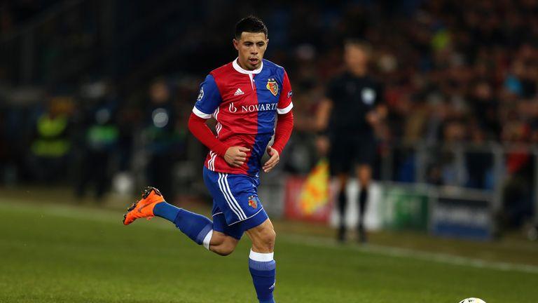 Basel left-back Blas Riveros