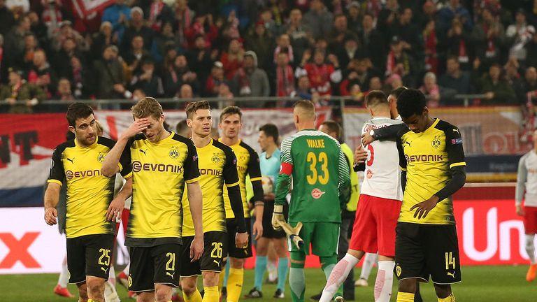 Borussia Dortmund crashed out of the Europa League