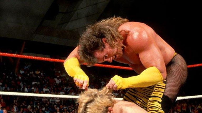 """As part of Beefcake's """"Barber"""" gimmick, he would give his beaten opponent a post-match haircut"""