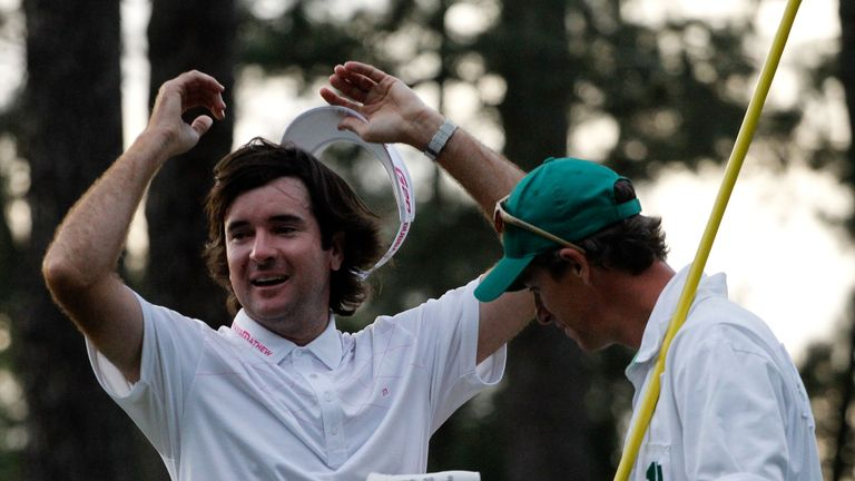 Watson is a two-time winner at Augusta