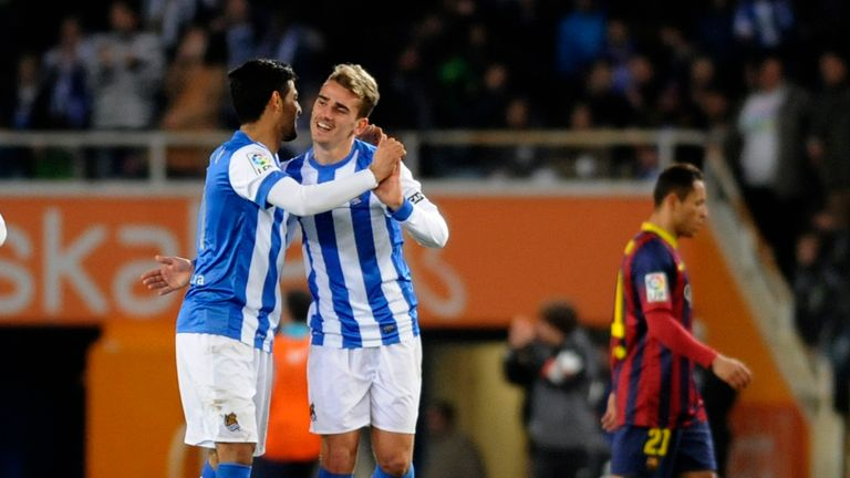 Vela has never hit the same heights as Antoine Griezmann