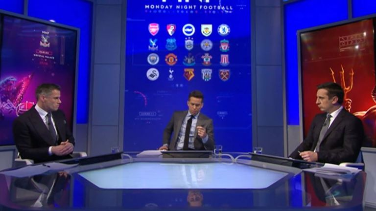 Here's all you need to know from Monday Night Football with Jamie Carragher and Gary Neville