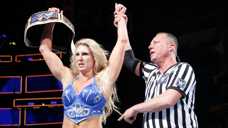 Charlotte Flair defeated Ruby Riott to retain her title at Fastlane