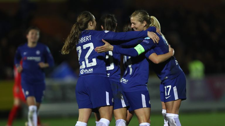 Chelsea won the WSL last season but could not make the final of the Champions League