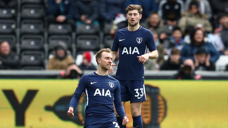 Eriksen was the star man again for Spurs