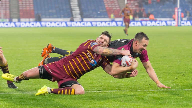 Danny McGuire scored his first try for Hull KR