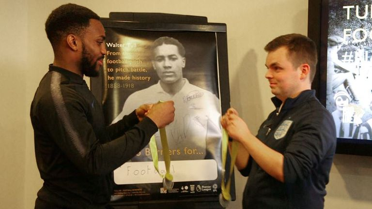 Danny Rose also discussed the challenge of overcoming barriers