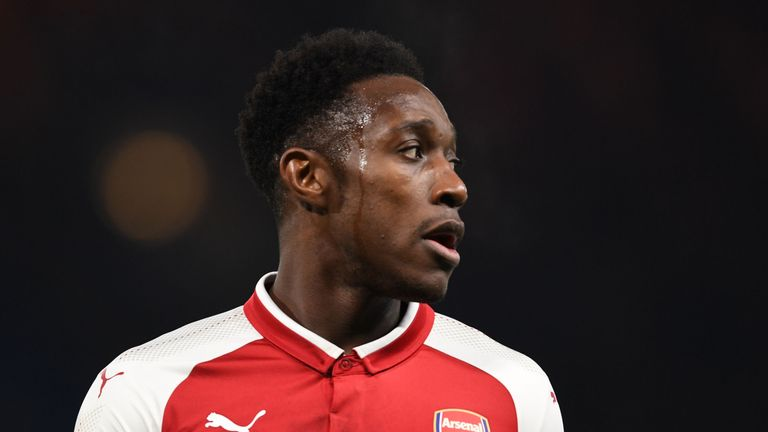 Arsenal's Danny Welbeck is expected to find out on Monday whether he will face any retrospective action for an alleged dive