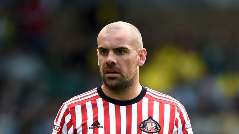 Darron Gibson left Sunderland in March after a drink-driving charge