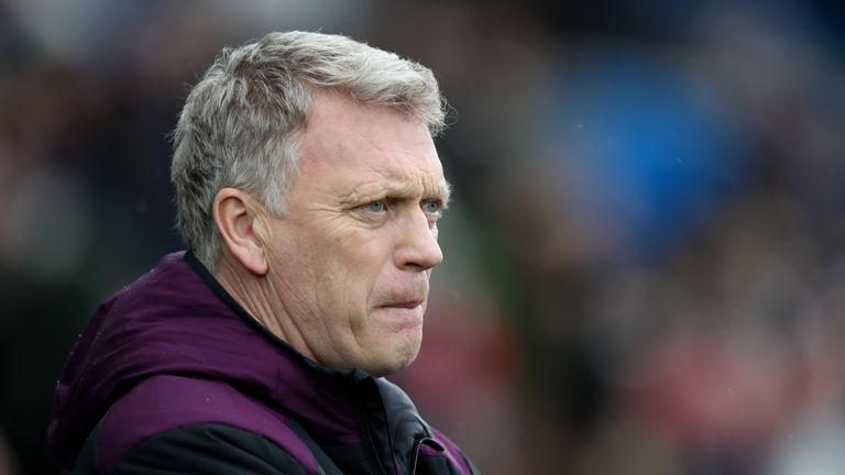 David Moyes is focused on reaching the 40-point mark