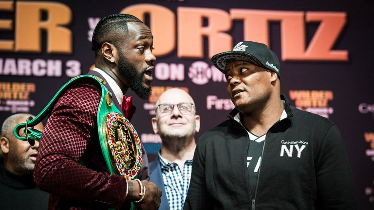 Wilder has urged Whyte to face his former opponent Luis Ortiz