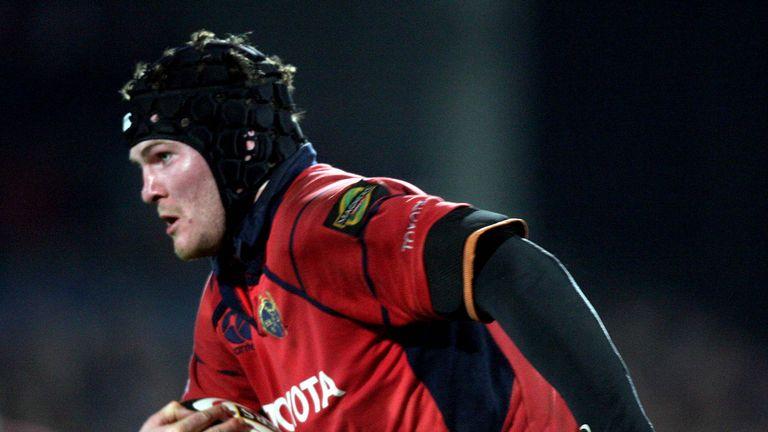 Ryan made his Munster debut against the Ospreys in September 2004