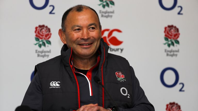 Eddie Jones signed a two-year contract extension with England in January