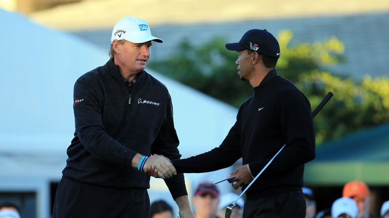 The two players have won 18 major titles between them