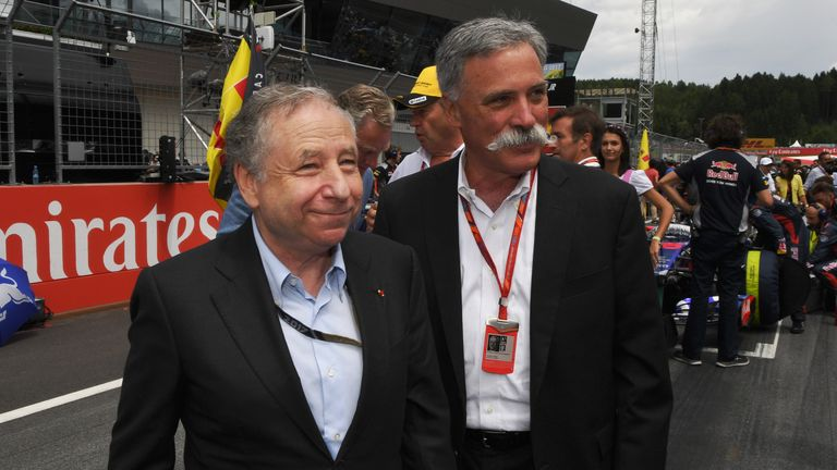 Todt says he has been in regular and constructive discussion with F1 chairman Chase Carey and other stakeholders
