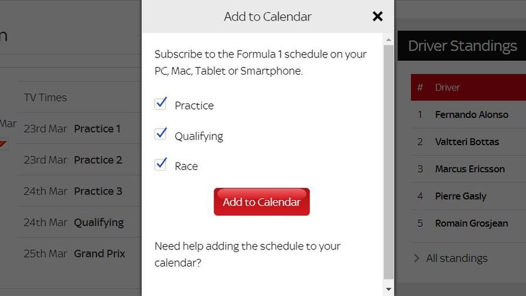 new balance grand prix 2018 schedule