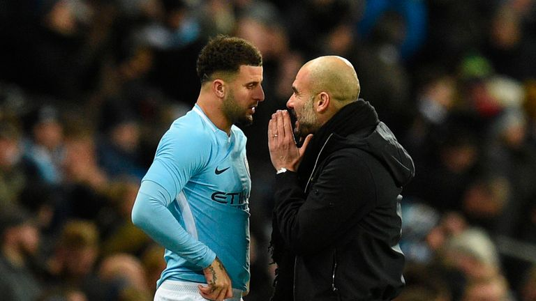 Kyle Walker has impressed in his debut season with City
