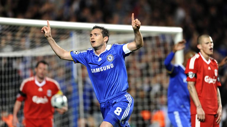 Frank Lampard inspired Chelsea past Liverpool