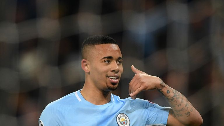 Gabriel Jesus is in line to start for City on Wednesday night