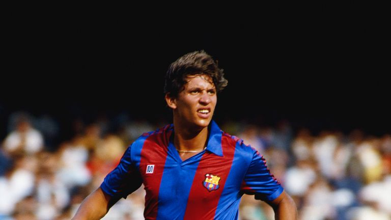 Gary Lineker joined Barcelona from Everton in 1986 and spent three years at the club, scoring 52 goals in 137 appearances, with his last match coming in 1989