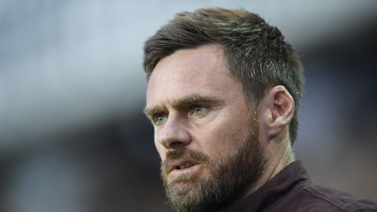 Graham Alexander spent two years in-charge at Scunthorpe