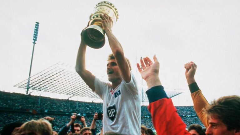 Hamburg's last major trophy was the German Cup in 1987