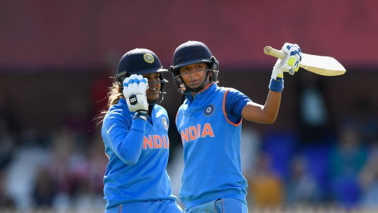 Harmanpreet Kaur's unbeaten 171 in the World Cup semi-final included 20 fours and seven sixes