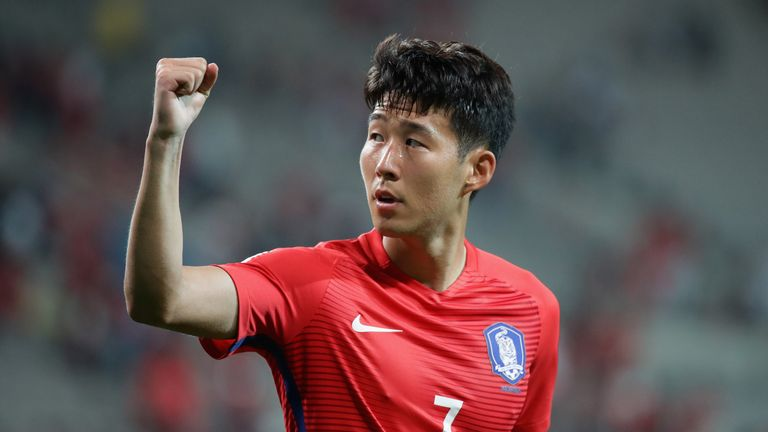 Heung-Min Son will be a key figure for South Korea at the 2018 World Cup