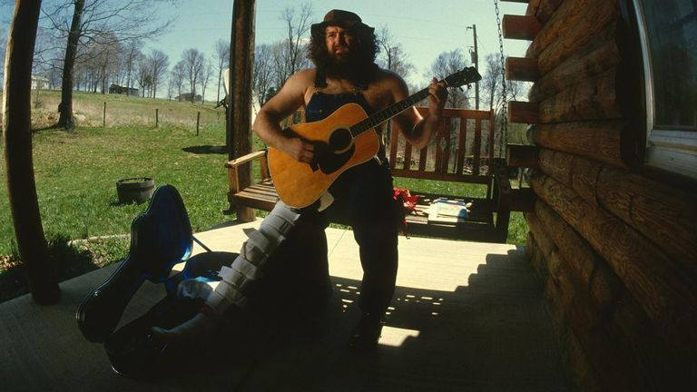 Hillbilly Jim was very popular as a