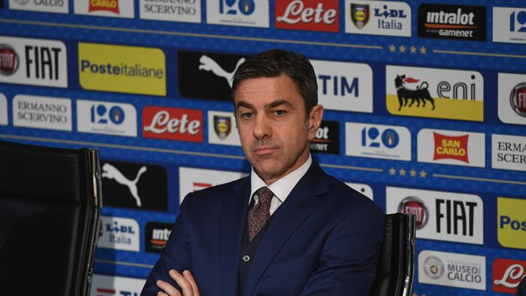 d40bf885bd1 Alessandro Costacurta is leading Italy s search for their next head coach