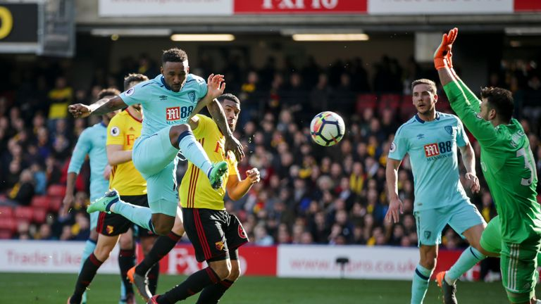 Defoe scored a late equaliser for Bournemouth at Vicarage Road last Saturday