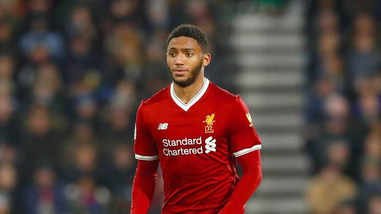 Joe Gomez has played just one of Liverpool's last six Premier League games