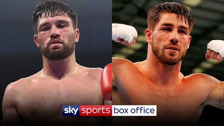 Ryder and Cox will meet on Sky Sports Box Office on May 5